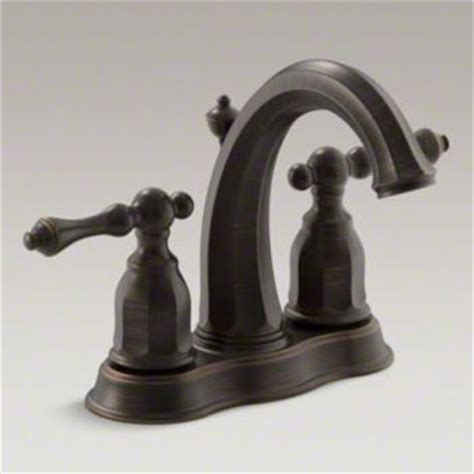 Kohler Kelston Faucet Rubbed Bronze by Kohler K 13490 4 2bz Kelston Handle Centerset