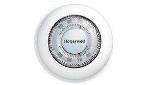 Honeywell Round Heat  Cool Manual Thermostat  Ct87n1001