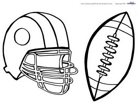 football templates print  coloring pages
