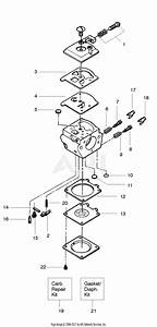 Poulan Pp255 Gas Saw  255 Gas Saw Parts Diagram For