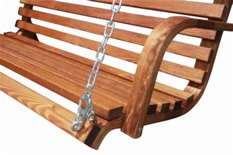 solid hardwood outdoor wooden hanging chair swing