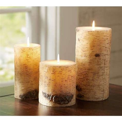 natural candles   5   In Decors