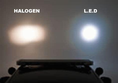 halogen light vs led microscope light sources halogen or led