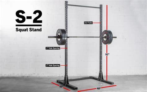 rogue squat rack rogue s 2 squat stand 2 0 weight 92 quot squat rack