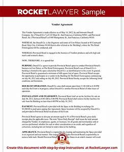 Vendor contract template create a vendor agreement with for Vendor terms and conditions template