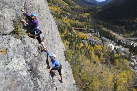 Mountain Skills Rock Climbing Adventures Open All Seasons
