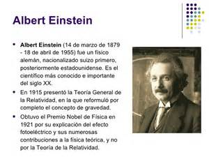 albert einstein resumen de su vida y obra teor 237 a de la relatividad