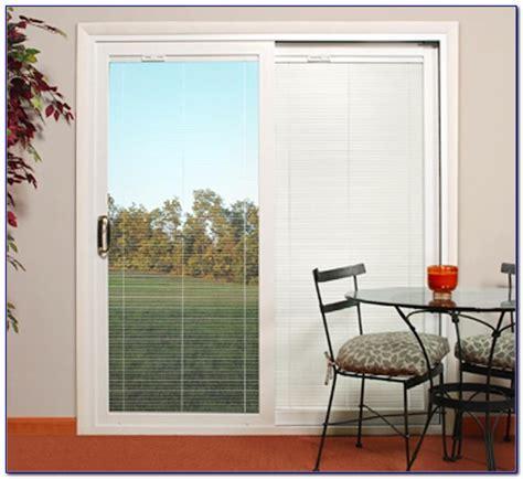 Patio Door Blinds by Sliding Patio Door Blinds Ideas Center Design