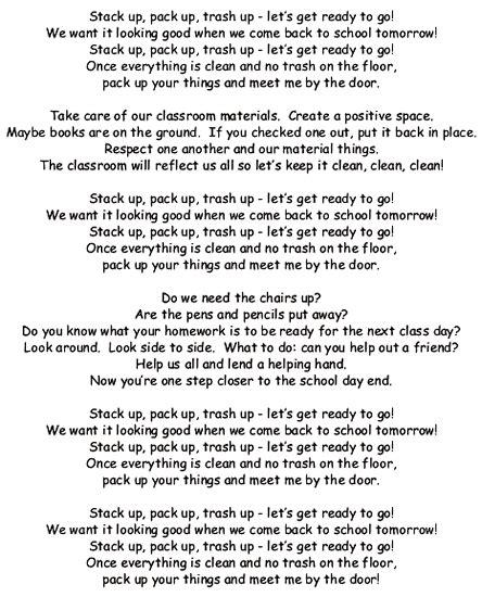 stack  pack  trash  song lyrics  sound clip