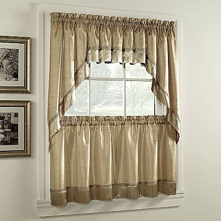 various style and patterns of jcpenney kitchen curtains