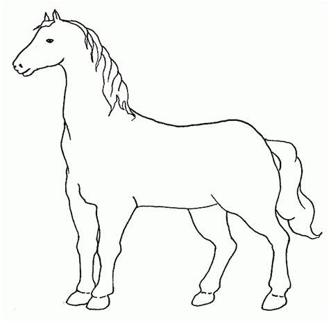 cavallo disegno facile per bambini semplice disegno di un cavallo da colorare disegni da