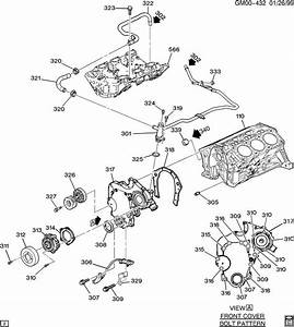 Chevrolet Impala Hose  Engine Coolant By