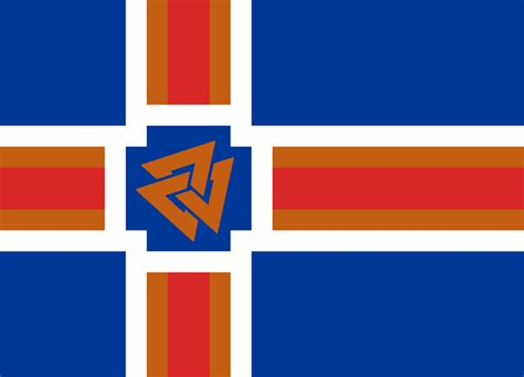 Iceland Flag Coloring Pages