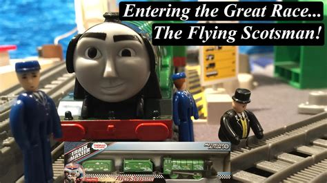 Thomas & Friends The Great Race Toy Train-trackmaster