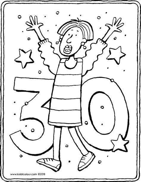 Kleurplaat 30 Jaar Getrouwd by Kleurplaten Voor Kinderen 7 Tot 9 Jaar Kiddi De