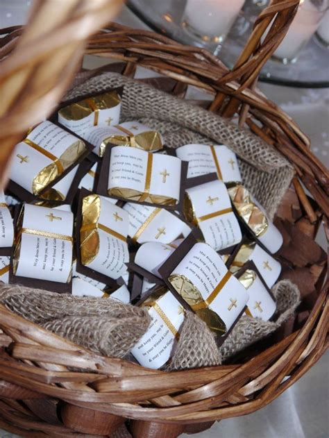 communion chocolate bible favors contact
