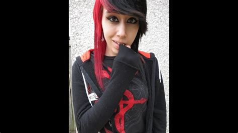 Half Red And Black Hair Youtube