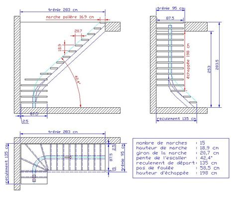 calcul marche escalier quart tournant du16 jornalagora