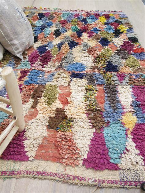 tapis boucherouite vieux rose les petits bohemes