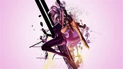 Riven Wallpapers Bunny Deviantart Legends League Lol
