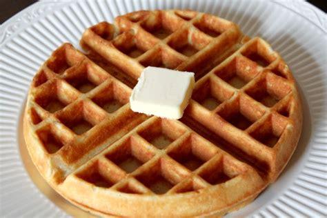 easy homemade waffles   mamma