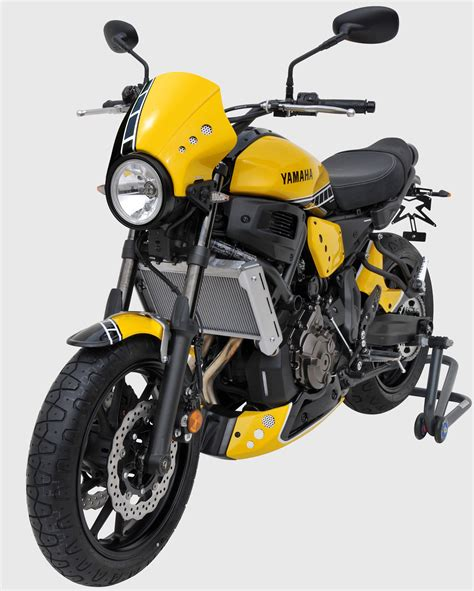 60th anniversary color front view with 60th anniversary colors yamaha xsr 700