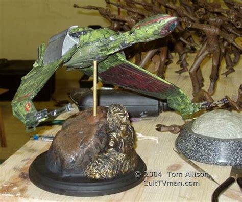 matt buchtmanns klingon bird prey culttvmans fantastic modeling