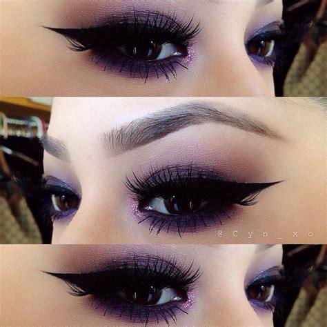 catch    purple trend  perfecy purple eye makeup  tutorials pretty designs