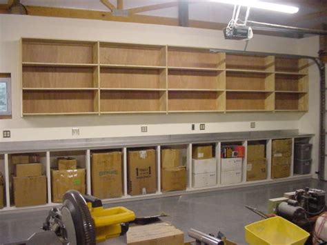 Garage Cabinets Build Your Own by How To Build A Cheap Garage Storage System