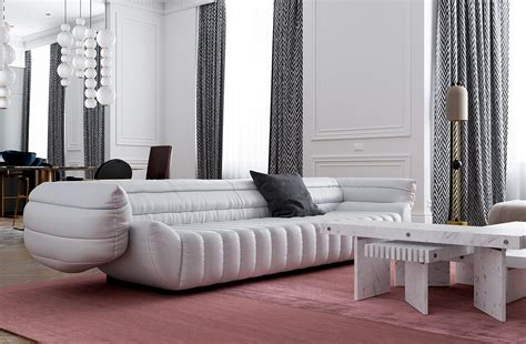 A round or oval modern coffee table creates the most welcoming and hospitable environment, and if squaring the room allows you to — it is better to buy a table of such form. 3 Ultra-Modern Takes on Neoclassical Interior Inspiration