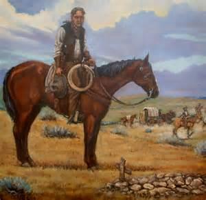 Western Horse Art Paintings