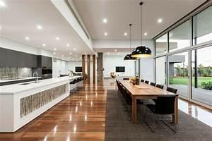 Deco Bois Et Blanc : d co salle a manger blanc et noir ~ Melissatoandfro.com Idées de Décoration