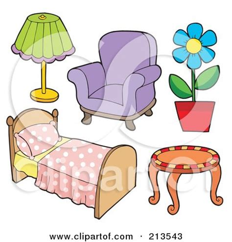 clipart frame   couch  household items royalty