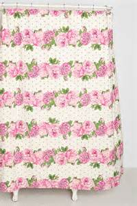 plum bow blossoming stripe shower curtain urban outfitters