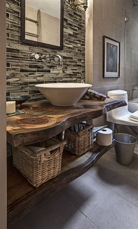 earth tone bathroom designs 1000 images about rustic interiors on rustic