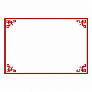Chinese Border Clipart (42+)