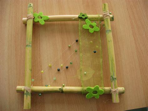 faire cadre photo faire un cadre en bambou