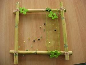 Cadre Avec Photo : cadre avec bambous sur ~ Teatrodelosmanantiales.com Idées de Décoration