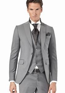 Costume Mariage Homme Gris : costume gris pour changer du noir ~ Mglfilm.com Idées de Décoration