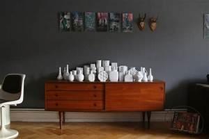Wand Schwarz Streichen : w nde streichen von silber bis anthrazit ~ Fotosdekora.club Haus und Dekorationen
