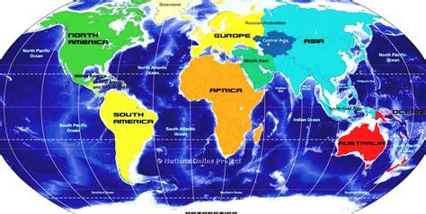 map   world showing equator  travel information