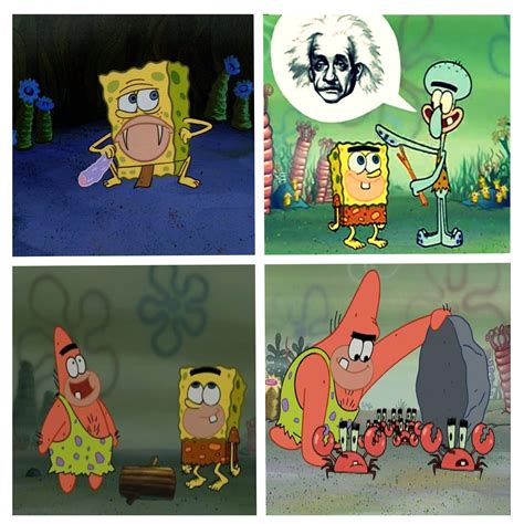 Spongegar Memes - they called it quot bc before comedy quot for a reason spongegar caveman spongebob know your meme