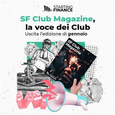 SF Club Magazine | Starting Finance