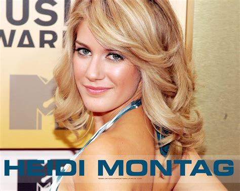 lovely wallpapers heidi montag hd wallpapers