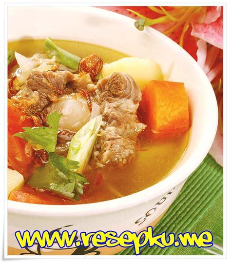 # resep sup buntut sop buntut: Resep Sop Buntut Sapi Bening Spesial | Resepku.me