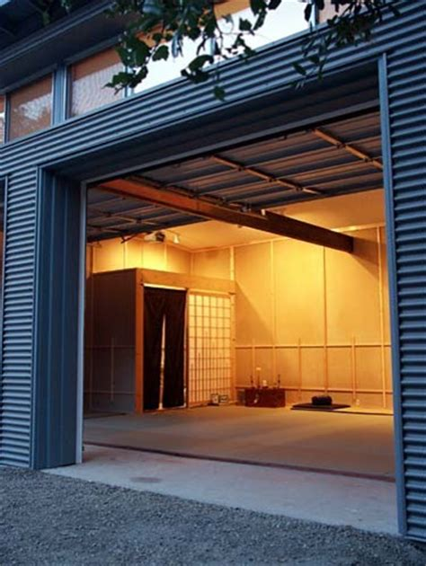 klopf architecture dojo interior modern entry san