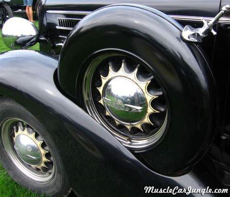 1935 Dodge Brothers Touring Sedan Spare Tire