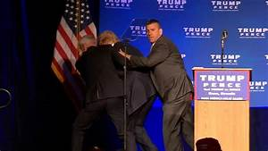 Donald Trump Rushed Off Stage During Nevada Speech - NBC News