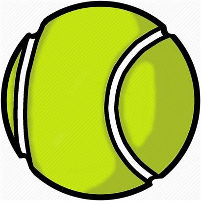 Tennis Transparent Ball Balls Clipart Sports Clip