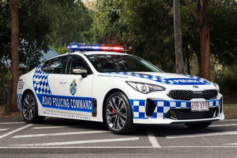 Aussie Cops Are Getting Kia Stinger Cop Cars, American
